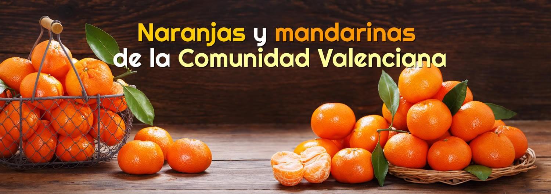 Naranjas y mandarinas de la Comunidad Valenciana