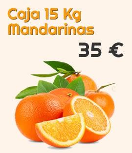 Caja 15 kg de mandarinas